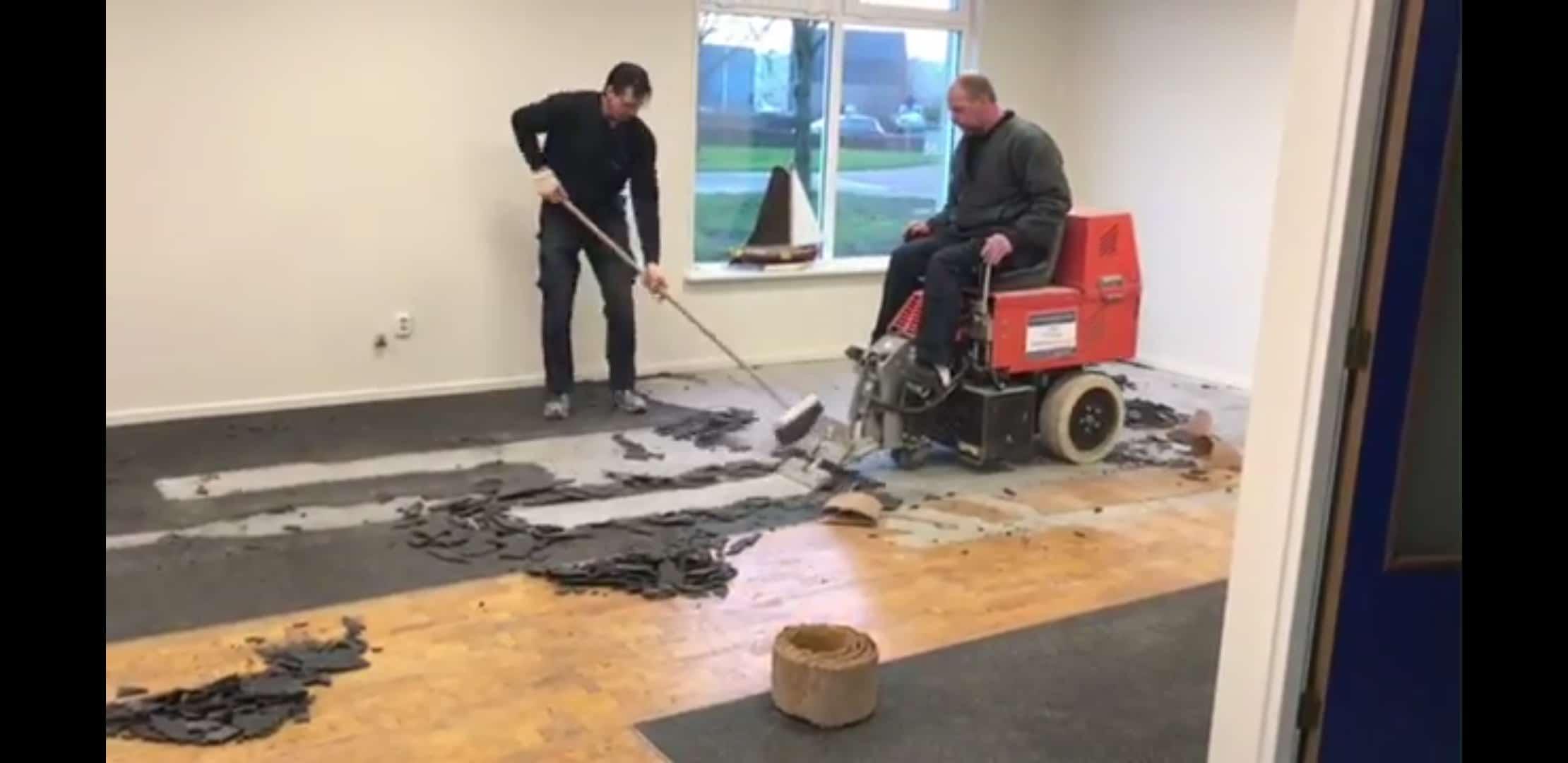 Beroemd Siergrindvloer laten verwijderen - Vloer Verwijderen Wolter VT73