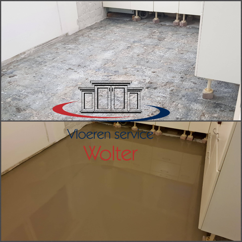 Genoeg Vloer egaliseren - Vloer Verwijderen Wolter ZS28