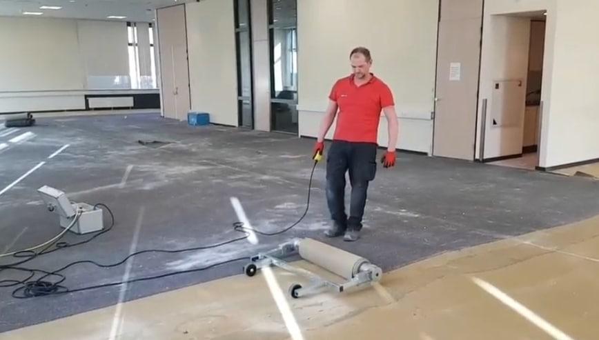 Vloerbedekking verwijderen vloer verwijderen wolter