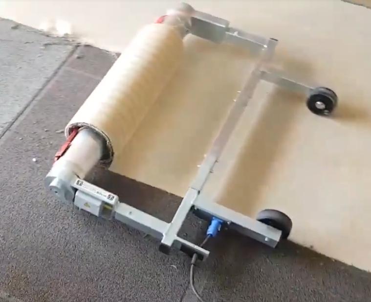 Trap Tapijt Verwijderen : Gelijmde vloerbedekking van de trap verwijderen vloer verwijderen