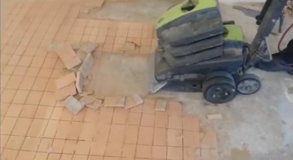 Fabulous plavuizen verwijderen uit vloeren - Vloer Verwijderen Wolter CX85